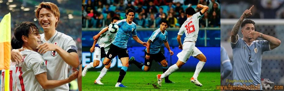 Uruguay le empata a Japon 2 a 2