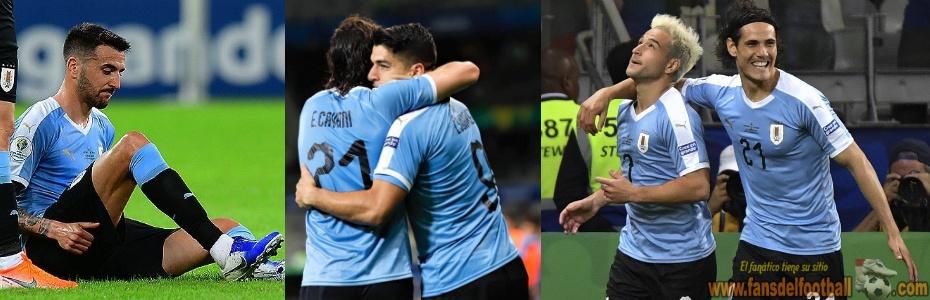 Uruguay debuta con goleada a Ecuador en Copa America 2019