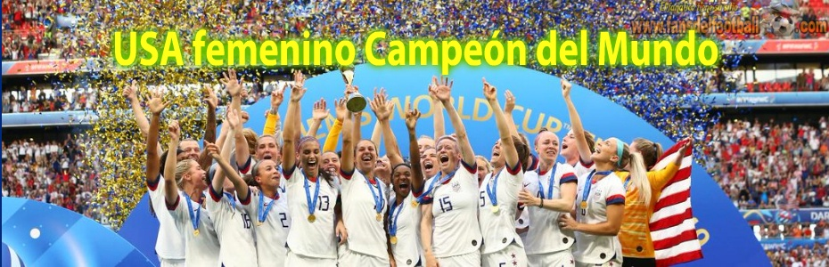 USA Campeon del Mundial Femenino 2019
