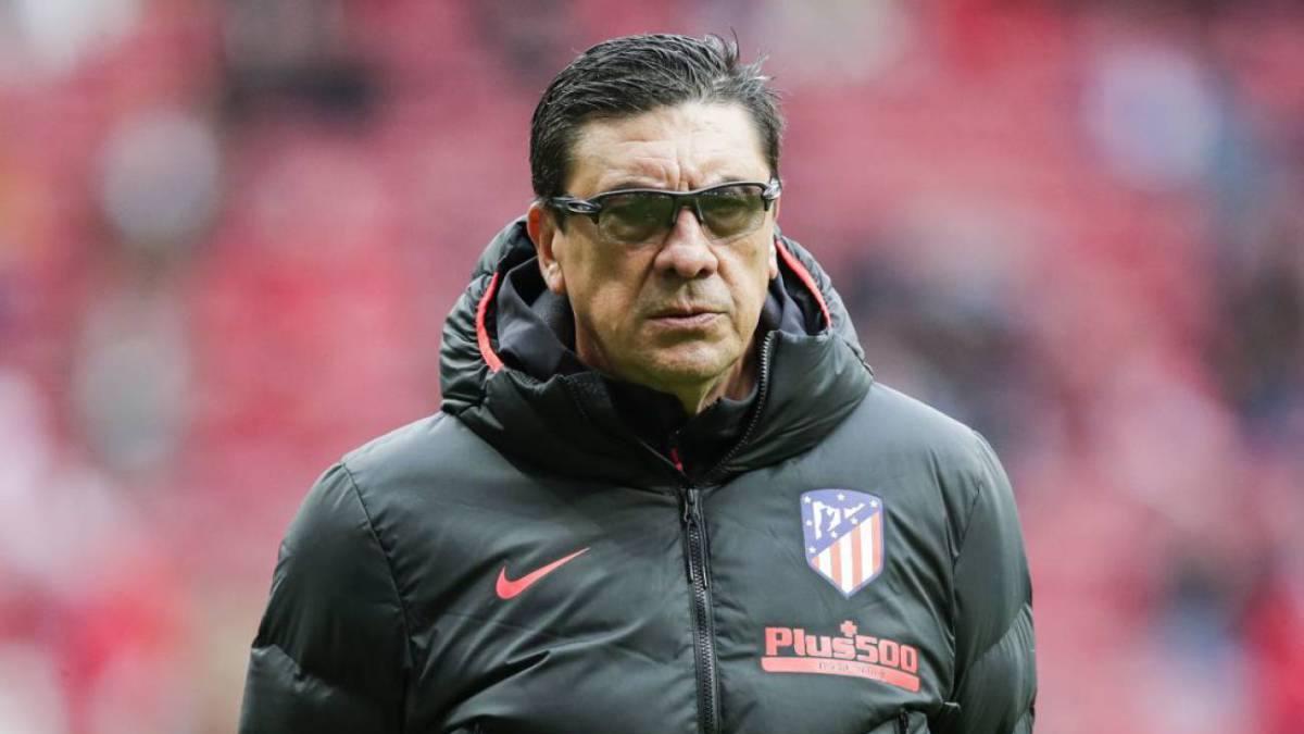 Germán 'Mono' Burgos dejará su cargo como asistente de Diego Simeone en el Atlético de Madrid
