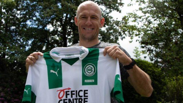 Arjen Robben regresa al fútbol y jugará en el Groningen, su primer club como futbolista profesional