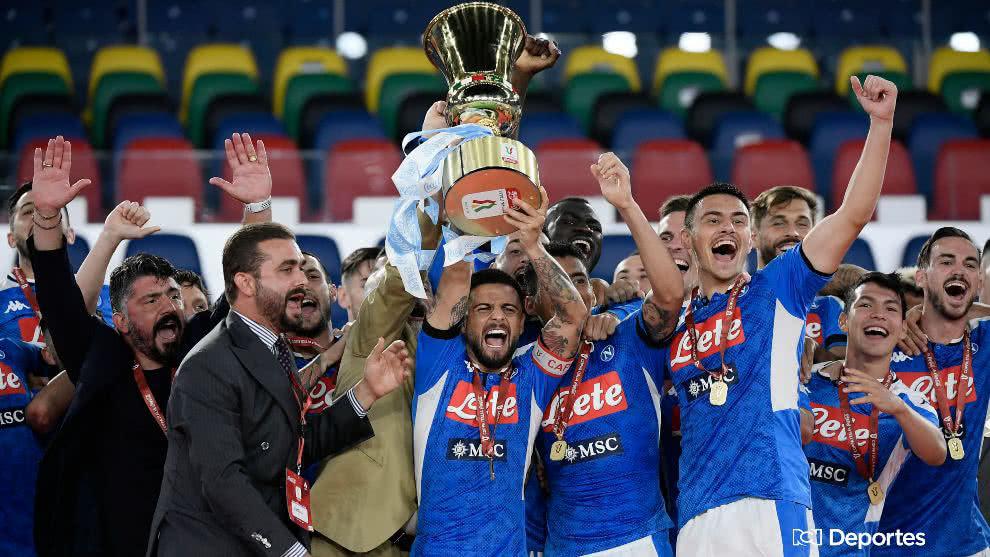 Napoli es campeón de la Coppa Italia al derrotar a la Juventus en los penales
