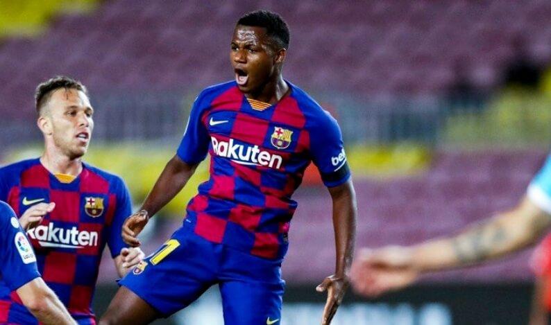 Barcelona rechaza oferta de Manchester United por Ansu Fati