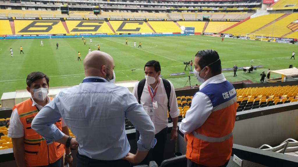 Las curiosidades del regreso al fútbol en Ecuador