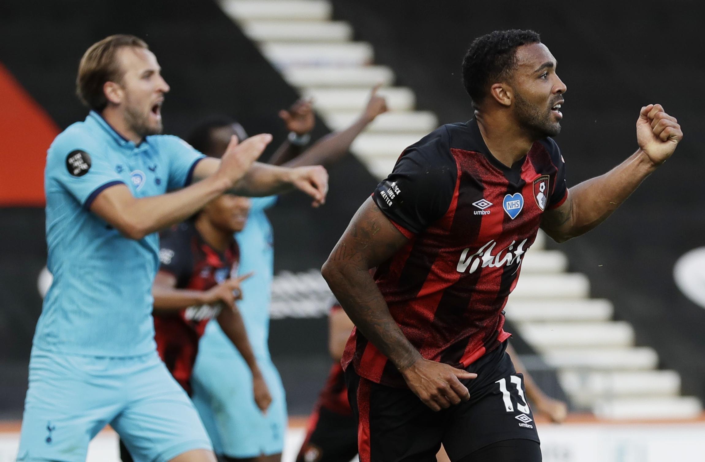 El Tottenham de Mourinho y Harry Kane empató 0-0 con el Bournemouth y se distancia de la zona Europa League