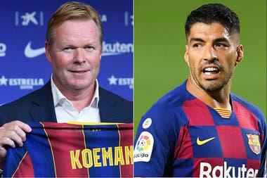 Koeman comunica a Suárez que no cuenta con él dentro del Barça