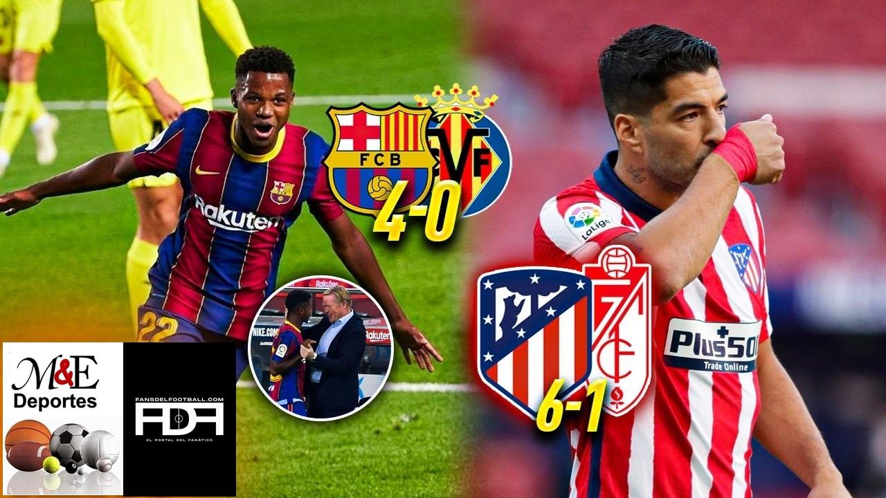 Buen comienzo de Luis Suárez en el Atlético de Madrid y del Barça  en LaLiga