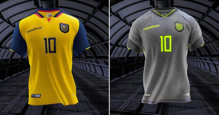 Ecuador presenta su nueva camiseta para las eliminatorias