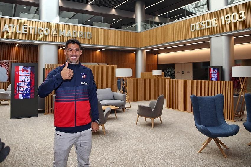 Luis Suárez supera las pruebas médicas y firma su contrato con el Atlético
