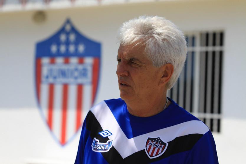Julio Comesaña renunció a la dirección técnica de Junior de Barranquilla