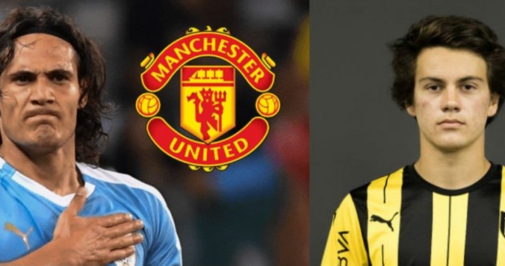 Cavani y Pellistri al Manchester United