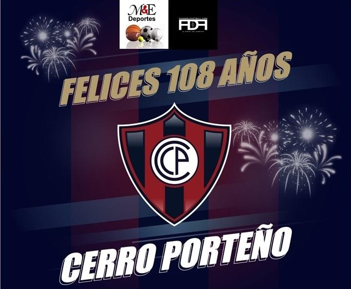 Cerro Porteño cumple hoy 108 años de vida institucional