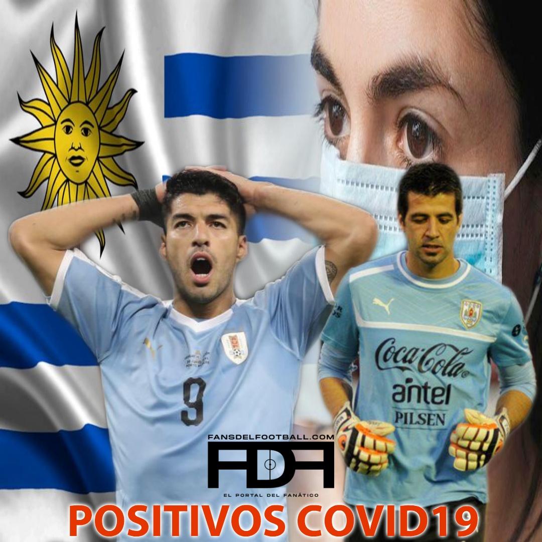 Bajas en Uruguay por positivo de covid