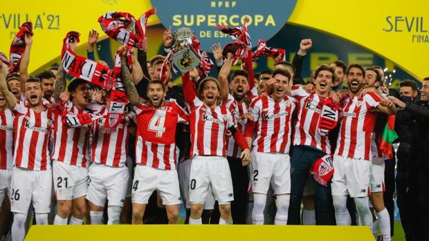 Athletic de Bilbao derrotó al FC Barcelona y es campeón de la Supercopa de España