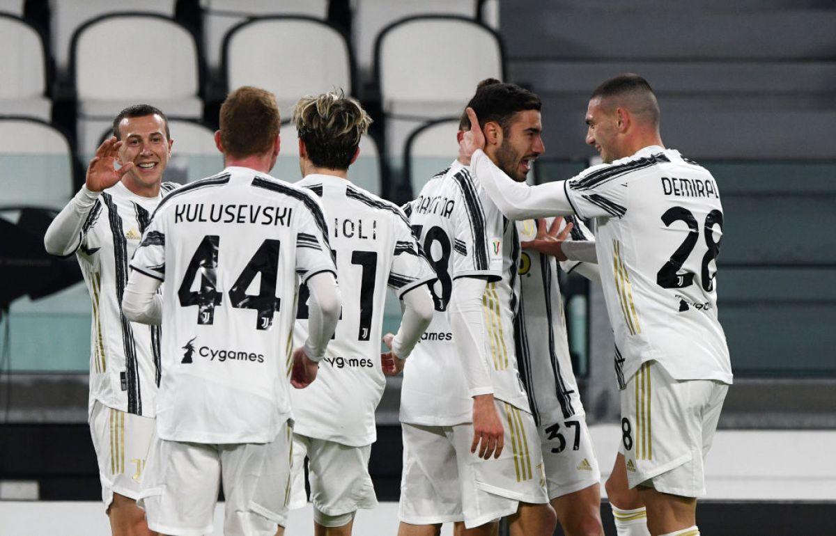 Juventus goleó 4-0 a SPAL y se enfrentará en semifinales de Coppa Italia al Inter