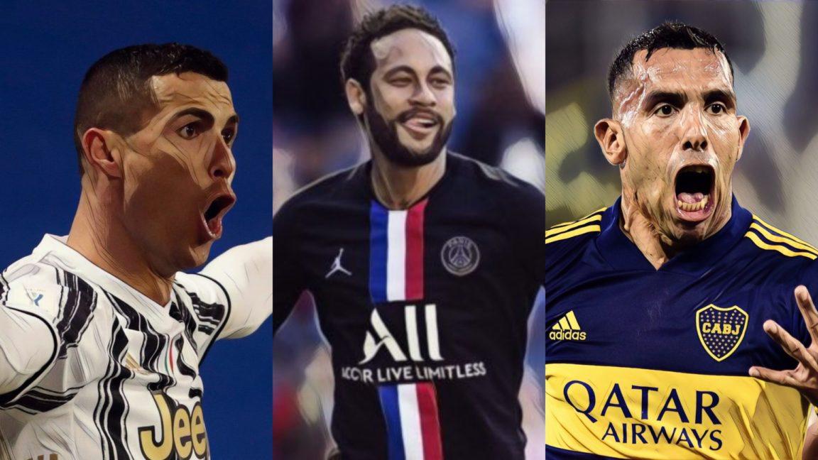 Cristiano Ronaldo, Neymar, Tévez y una constelación de estrellas nacieron un día como hoy