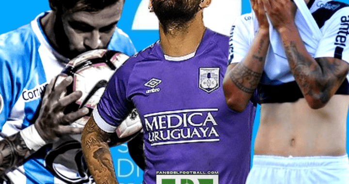 Defensor, Danubio y Cerro descienden