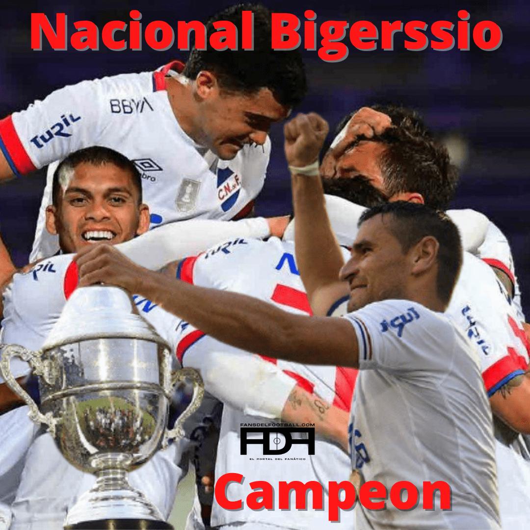 Nacional Bigerssio Campeon Uruguayo 2020