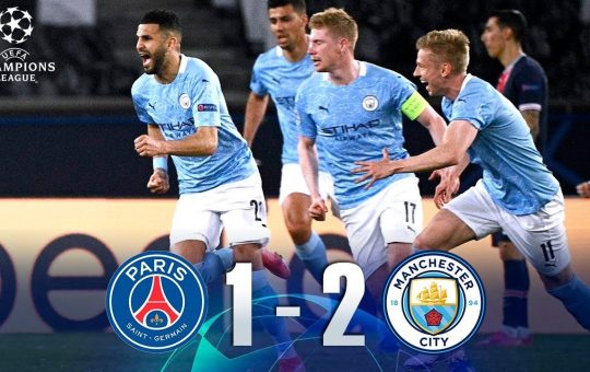 Manchester City ganó de visita al PSG