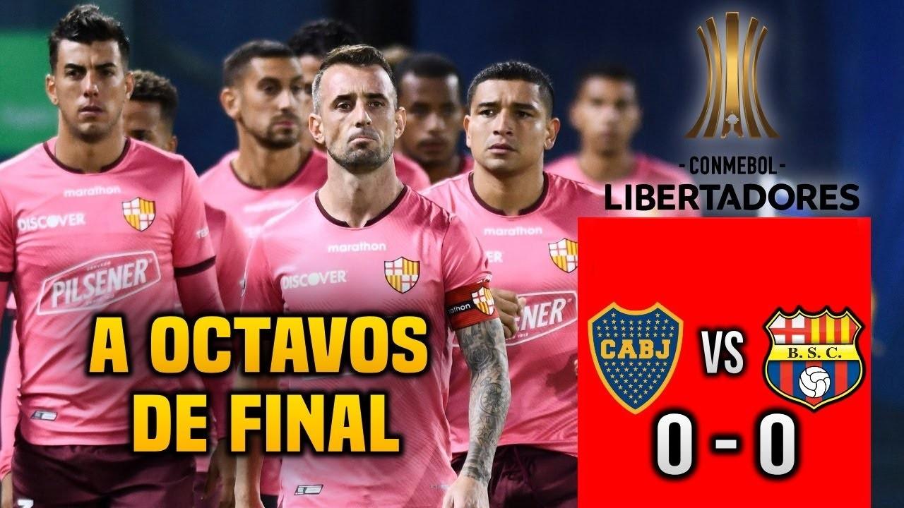Barcelona a 8vos de Libertadores