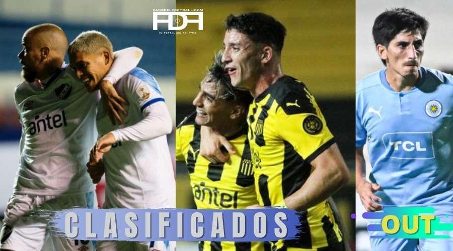 Peñarol y Nacional clasificados, Torque eliminado