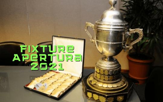 Fixture del Apertura Uruguayo 2021