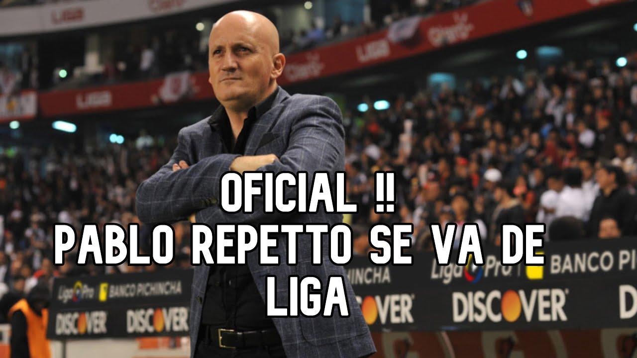 Pablo Repetto se va de Liga