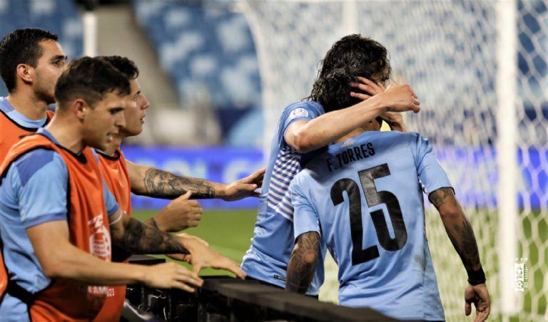 Uruguay gano 2-0 a Bolivia