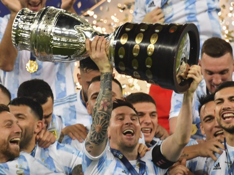 Argentina Campeon de America 2020