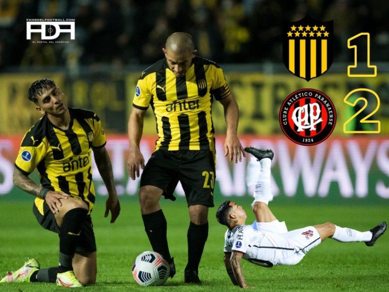 Sudamericana: Peñarol 1-2 Paranaense