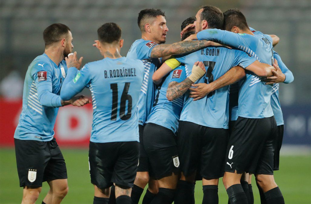 Eliminatorias: Peru 1-1 Uruguay